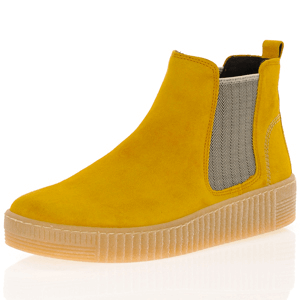Gabor - 731.30 Suede Chelsea Boot, Honey