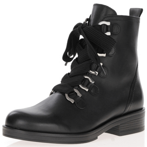 Gabor - 790.27 Lace Up Ankle Boots, Black