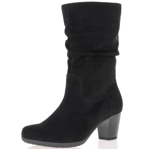Gabor - 804.47 Mid Calf Slouch Boots, Black