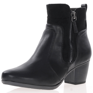Jana - Soft Line 25370 Ankle Boot, Black