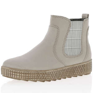 Jana - Soft Line 25461 Chelsea Boots, Light Grey