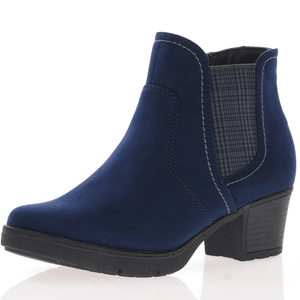 Jana - Soft Line 25469 Ankle Boot, Navy