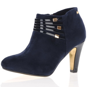 Kate Appleby - Colburn Heeled Shoe Boot, Navy