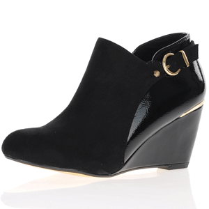 Kate Appleby - Lydney Wedge Shoe Boot, Black