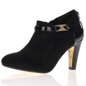 Kate Appleby - Mitcham Heeled Shoe Boot, Black