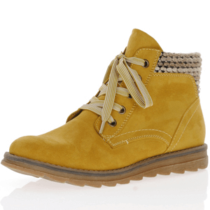 Marco Tozzi - 25208 Lace Up Ankle Boot, Mustard
