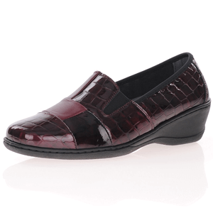 Notton - 2298 Patent Leather Shoes, Bordeaux
