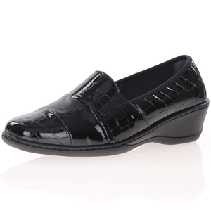 Notton - 2298 Patent Leather Shoes, Black