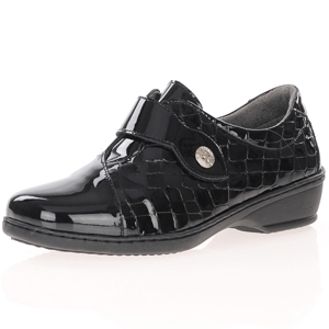 Notton - 2352 Leather Patent Shoe, Black
