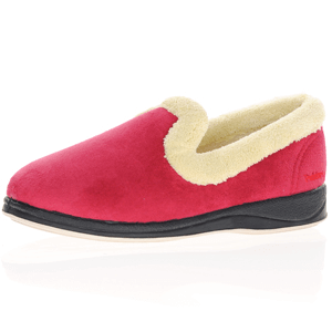 Padders - Repose Warm Lined Slippers, Red