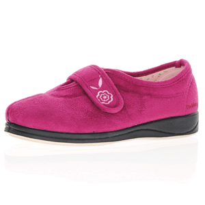Padders - Camilla Front Strap Slipper, Cerise