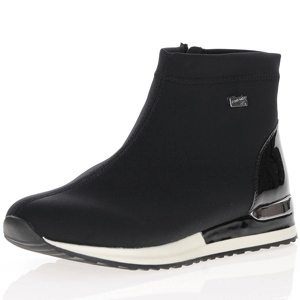 Remonte - R2571-02 Water Resistant Ankle Boots, Black