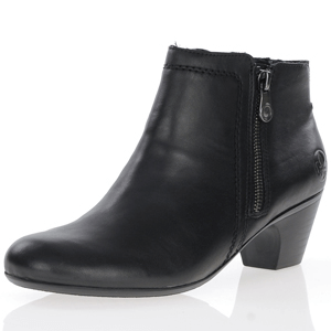 Rieker - 70551-00 Low heeled Ankle Boots, Black