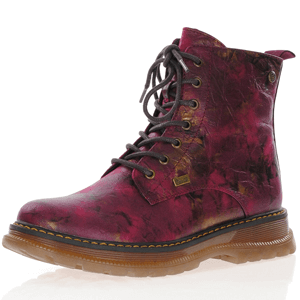 Rieker - 92810-35 Water Resistant Ankle Boots, Magenta
