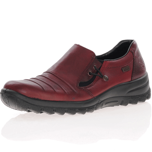 Rieker - L7154-30 Water Resistant Shoes, Burgundy
