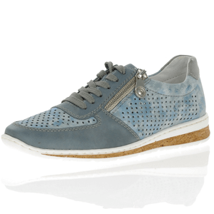 Rieker - N5122-12 Lace Up Shoe, Blue