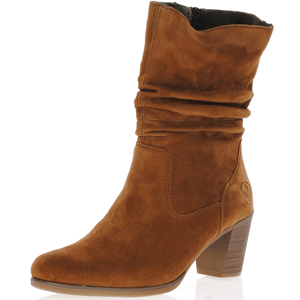 Rieker - Y8983-24 Mid Calf Slouch Boots, Brown