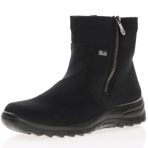 Rieker - Z7161-00 Water Resistant Ankle Boots, Black