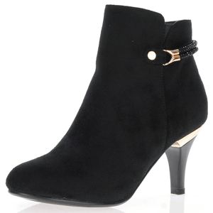 Susst - Donna Dressy Ankle Boots, Black