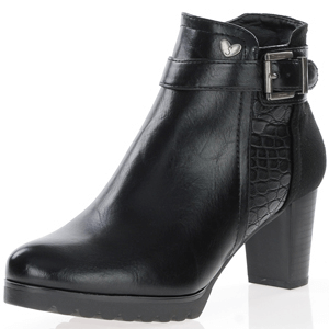 Susst - Ruben Ankle Boots, Black
