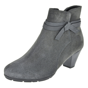 Gabor - 642.39 Suede Ankle Boot, Grey