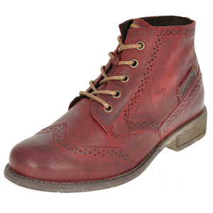 Josef Seibel - Sienna 15 Leather Ankle Boot, Wine