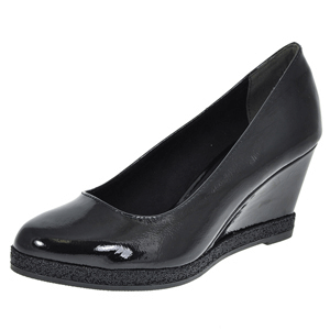Marco Tozzi - 22440 Patent Wedge, Black