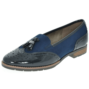Soft Line By Jana - 24260 Slip-On Loafer, Navy