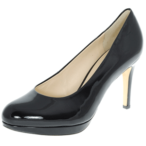 Hogl - 8004 Leather Court Shoe, Black Patent