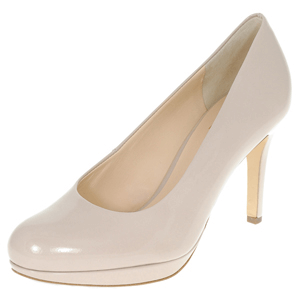 Hogl - 8005 Leather Court Shoe, Nude Patent