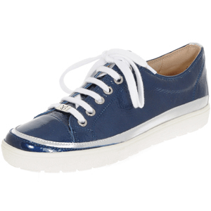 Caprice - 23654 Leather Lace Up Shoe, Navy