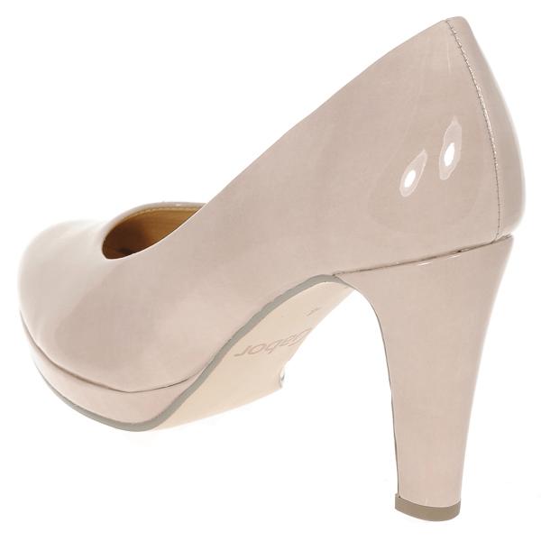 GABOR Nude Patent Court Shoe Splendid |Fabucci Shoes|Ireland|