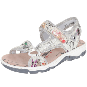 Rieker - 68879-90 Ladies Walking Sandal, White