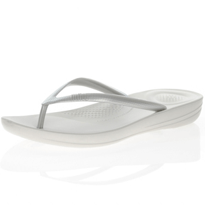 Fitflop - Iqushion Flip Flops, Silver