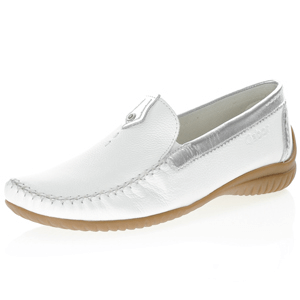 Gabor - 090.50 Leather Moccasin, White
