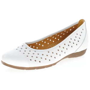 Gabor - 169.21 Leather Pump, White