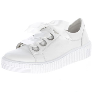 Gabor - 330.21 Leather Trainer, White