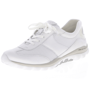 Gabor - 966.50 Rolling Soft Trainer, White
