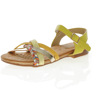 Lunar - Louisa Strappy Sandal, Yellow