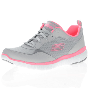Skechers - Flex Appeal 3.0 Go Forward Light Grey