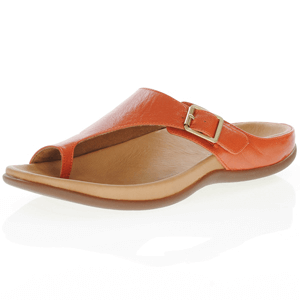 Strive Footwear - Java Leather Toe Loop Sandal, Sunset