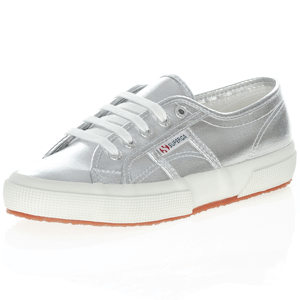 Superga - 2750 COTMETU Metallic Trainer, Silver