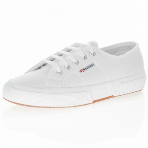 Superga - 2750 EFGLU Leather Trainer, White