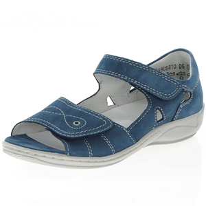 Waldlaufer - 582028 Hilena Leather Sandal Jeans