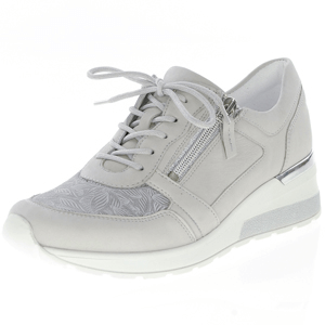 Waldlaufer - 939H01 Low Wedge Trainer, Light Grey