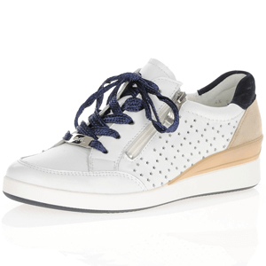 Ara - 33304 Leather Trainer, White