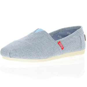 Drilleys - Canvas Alpargata, Denim