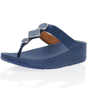 Fitflop - Leia Toe Post Sandal, Navy