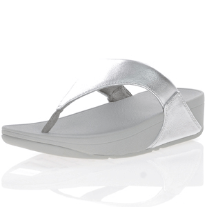 Fitflop - Lulu Toe Post Sandal, Silver