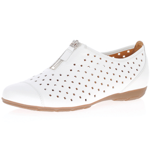 Gabor - 166.21 Casual Leather Shoe, White